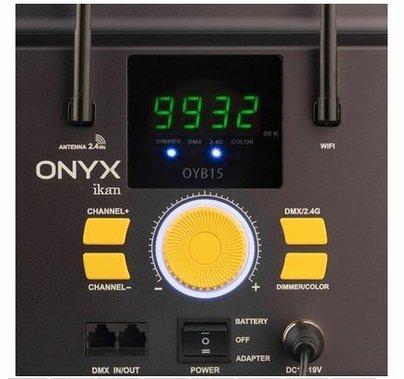 Ikan Onyx 2 x 1 Bi-Color 2-Point LED Light Kit with 2x OYB15