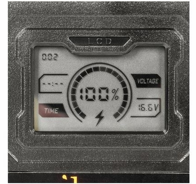 Ikan V-Mount 6.6Ah/95Wh, 14.8V, Li-Ion Battery w/ LCD display & Battery Status