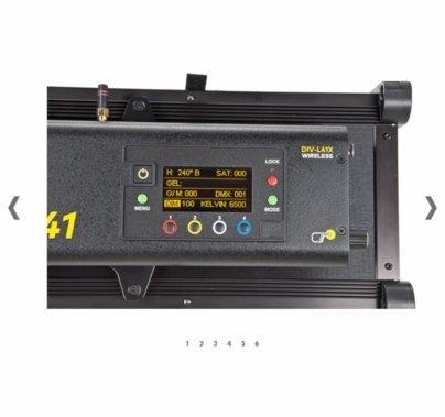 Kino Flo Diva-Lite-41 LED DMX Yoke Mount