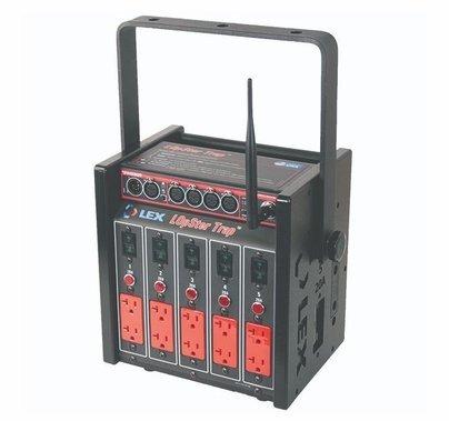 Lex 100 Amp LOpSter Lunchbox w/ Wireless DMX Opto-Splitter