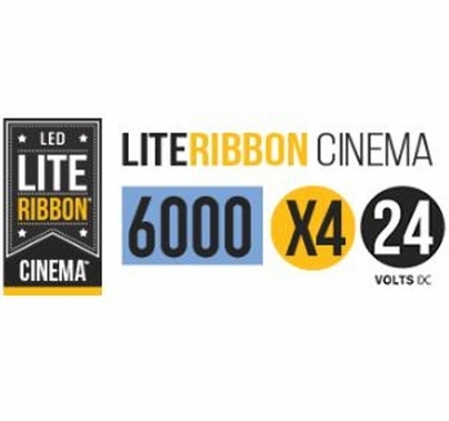 LiteGear LiteRibbon X4 Daylite 2.5 Meter 24V