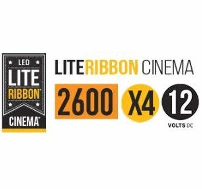 LiteGear LiteRibbon X4 Tungsten 1.25 Meter 12V