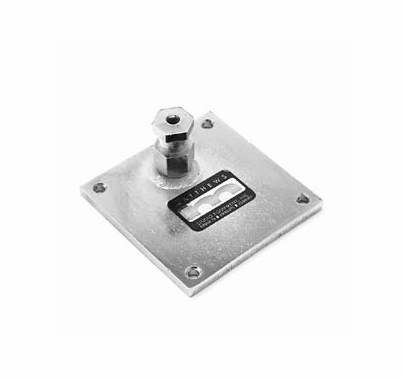 Matthews 4x4 Mounting Plate Snap In Mafer Clamp