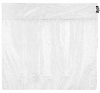 Modern 4ft Wag Flag UltraBounce White / Black Fabric | NO Frame