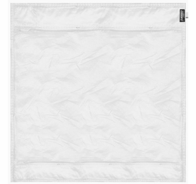 Modern 6ft Wag Flag Silent Half Grid Cloth Fabric|NO Frame