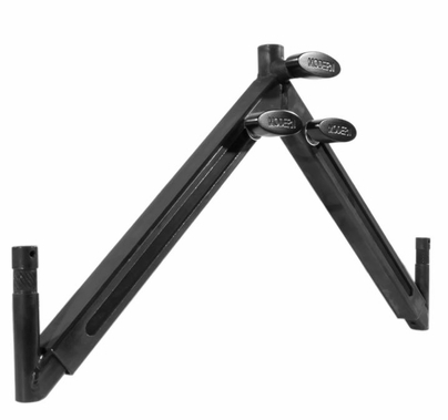Modern Baby Drop Down Offset Telescoping Dual Monitor Mount