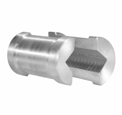 Modern Grip Clamp Reducer for Square Tube