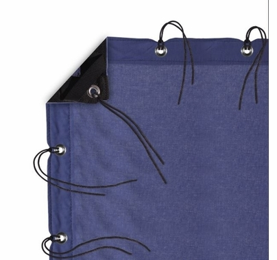 Modern Studio 12' x 20' Night Blue Muslin with Bag