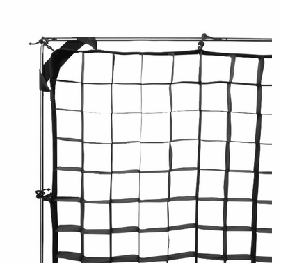 Modern Studio 20' x 20' 40° Fabric Egg Crate with Carrying Case