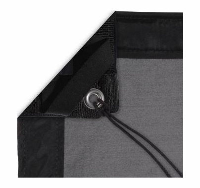 Modern Studio 20'x20' Silk (China Black) with Bag