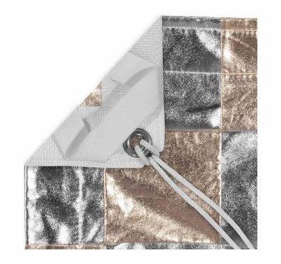 Modern Studio 20'x20' Silver/Gold (Checker Pattern) with Bag