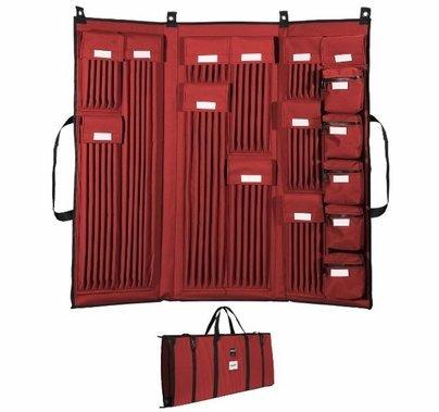 """Modern Studio 3 Fold Deluxe 5/8"""" Rod Bag"""
