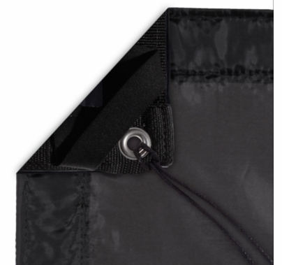 Modern Studio 4' X 4' Silk (Artificial Black) With Bag
