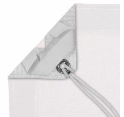 Modern Studio 4' X 4' White Blackout With Bag