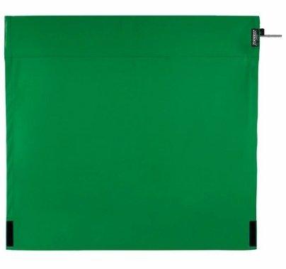 Modern Studio 4ft Wag Flag Chroma Key Green Fabric|NO FRAME