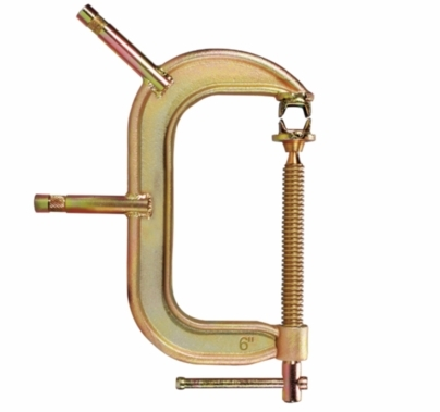 Modern Studio 6 Inch C Clamp with Baby Studs 023-4220