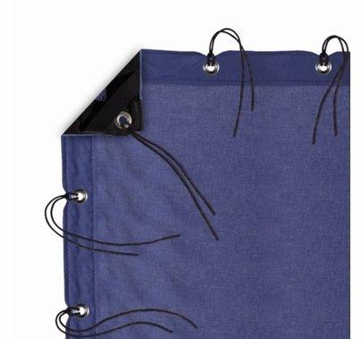 Modern Studio 6' X 6' Night Blue Muslin w/ Bag