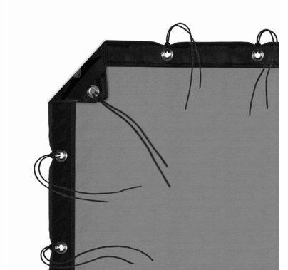 Modern Studio 6' X 6' Silk (China Black) With Bag