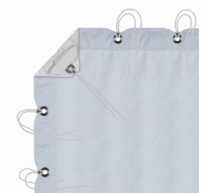 Modern Studio 6' X 6' Sky Blue Muslin With Bag