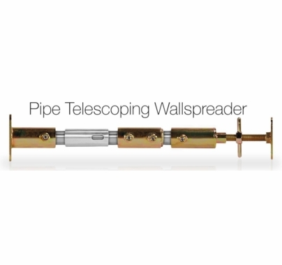 "Modern Studio Pipe Telescoping Wall Spreader for 1 1/2"" Pipe"