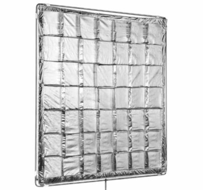 Modern Studio 4x4 Silver Reflector Slip-On Shiny Board