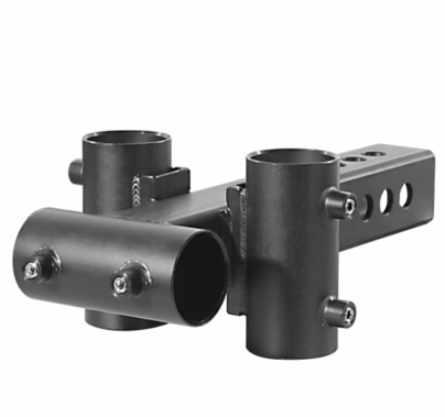 """Modern Studio Small Trailer Hitch to Pipe Adapter for 1 1/4"""" Pipe"""