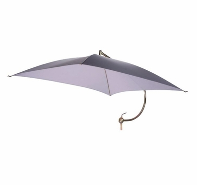 "Modern Studio Square Tractor Umbrella with 1-1/8"" Jr. Pin (Complete)"