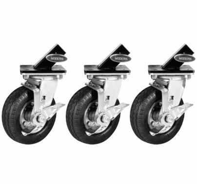 Modern Studio Steadi-Cam Stand Wheels / Casters Set of 3
