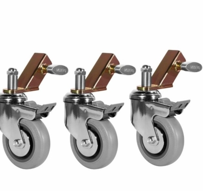 Modern Studio Wheels for Combo Stand (Set of 3)  004-1426