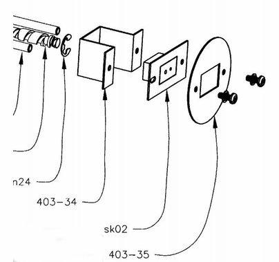 Mole Replacement Lamp Socket for Teenie-Weenie 600W