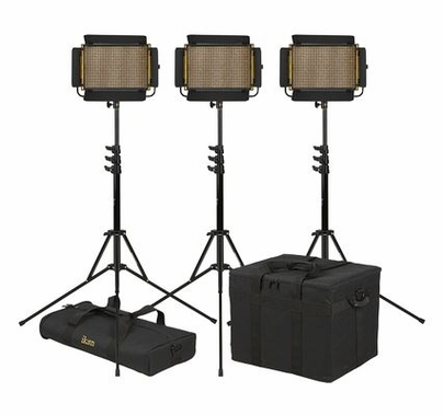 Ikan Onyx Half x 1 Bi-Color 3-Point LED Light Kit with 3x OYB5