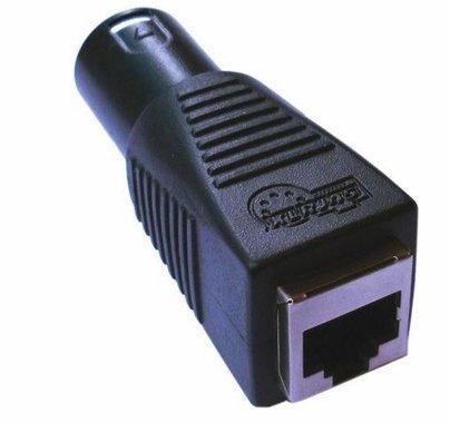 Quasar DMX 5 Pin to RJ45 Connector (Male)