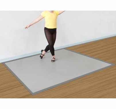 Rosco Marley Mat™ Home Studio Dance Floor Kit | Grey