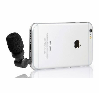 Saramonic SmartMic TRRS Condenser Microphone for iPhone, iPad