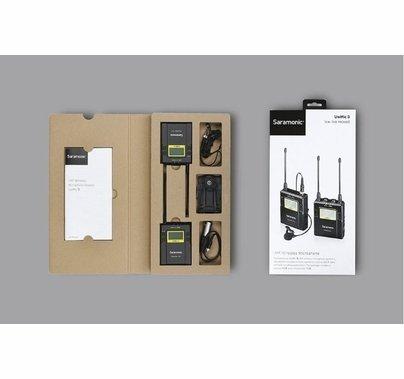 Saramonic 96-Channel Digital UHF Wireless Lavalier Microphone