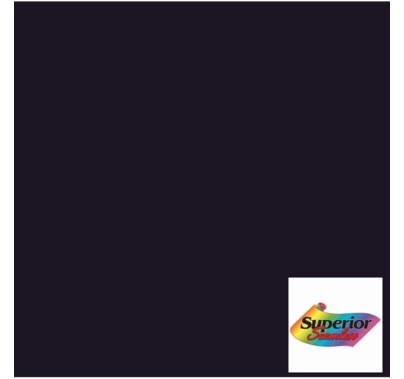 Superior 45 Ultra Black Seamless Paper 53 inch x 36 ft