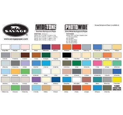 "01 Super White Savage Seamless Paper 107""x12yds"