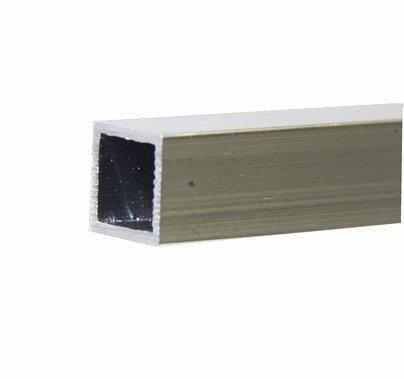 "1""  Aluminum Square Tube - 6Ft"