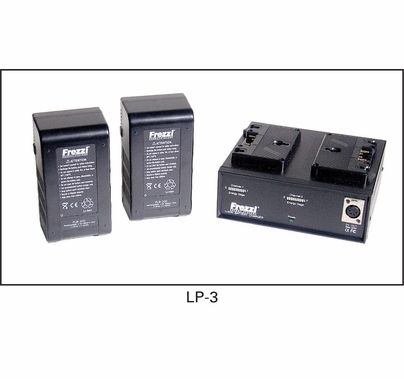 200W Frezzi Lithium Ion Package Anton Bauer LP-3  93932