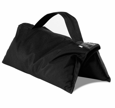 35lb Sandbag Black with Black Handle