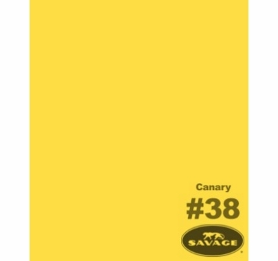 "38 Canary Yellow Savage Seamless Background Paper 53"" x 12yds 38-1253"