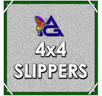 4'x4' SLIPPER / Solid Floppy w/ Pouch