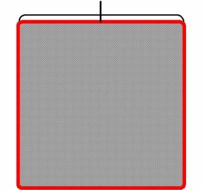 48x48 inch Double Net Black N4848.02
