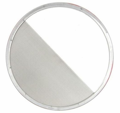 """7-1/4"""" Half Double Stainless Steel Diffusion Scrim"""