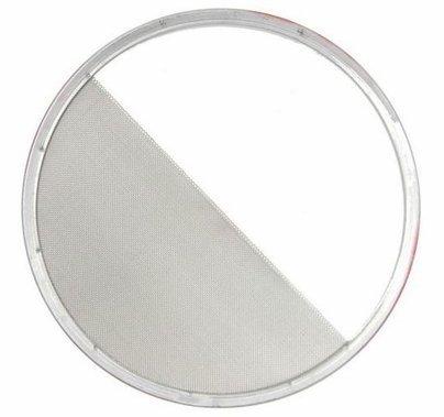 "7-3/4"" Half Single Stainless Steel Diffusion Scrim"