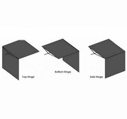 American 48x48 inch Solid Cutter w/Flop Down FC26