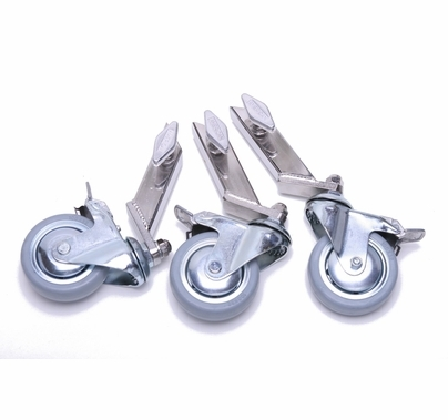 "American Wheel Set of 3 Dana Dolly Combo Stand with 3/4"" Leg"