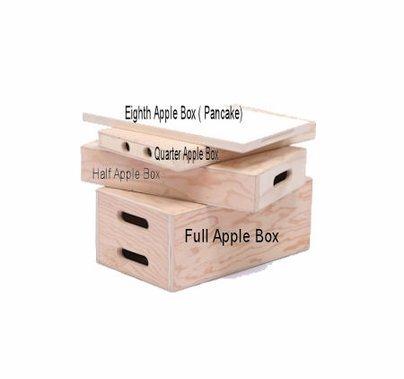 Apple Box Pancake (Eighth) 1/8
