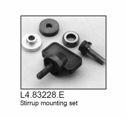 Arri Arrilite 1000 Light Stirrup Mounting Set / Tilt Lock Knob