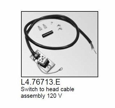 Arri Arrilite 2000 Open Face Light Head to Switch Cable